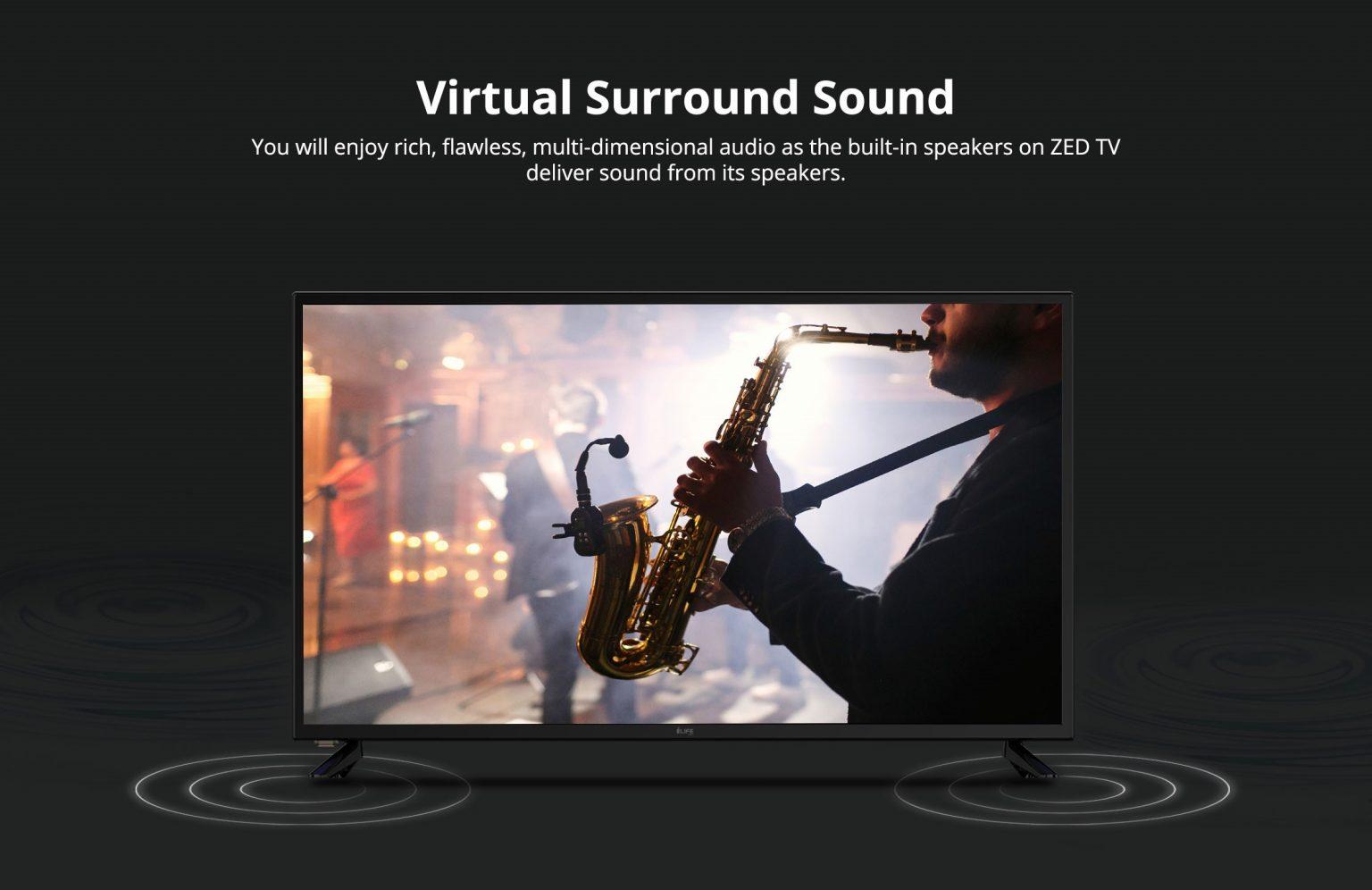 i-Life Zed TV 40 Inch LED TV- Black 3