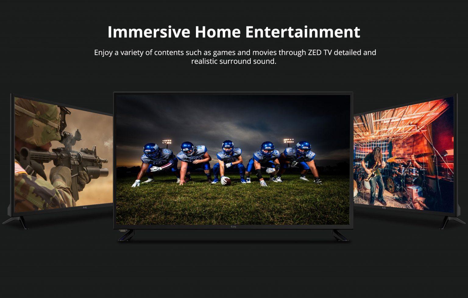 i-Life Zed TV 40 Inch LED TV- Black 4
