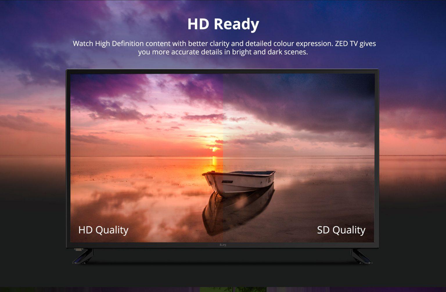 i-Life Zed TV 40 Inch LED TV- Black 5